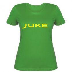 Жіноча футболка Juke - FatLine