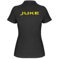 Жіноча футболка поло Juke - FatLine