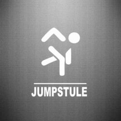 Наклейка jumpstule - FatLine