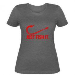 Жіноча футболка Just Fish It