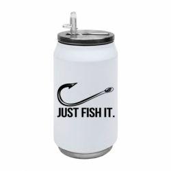 Термобанка 350ml Just Fish It