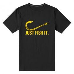 Чоловіча стрейчева футболка Just Fish It