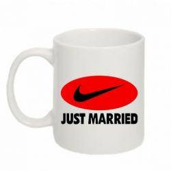 Кружка 320ml Just Married - FatLine