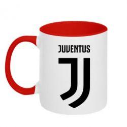 Кружка двухцветная 320ml Juventus Logo
