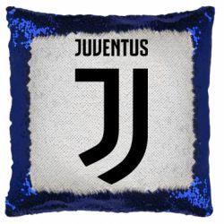 Подушка-хамелеон Juventus Logo