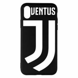 Чехол для iPhone X/Xs Juventus Logo