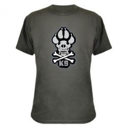 Камуфляжна футболка K-9