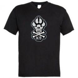 Чоловіча футболка з V-подібним вирізом K-9