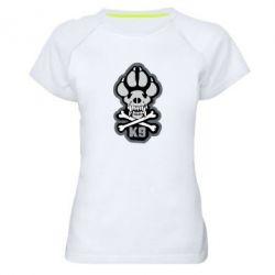 Жіноча спортивна футболка K-9