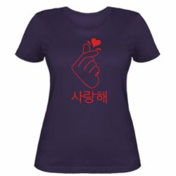 Женская футболка K-pop - FatLine