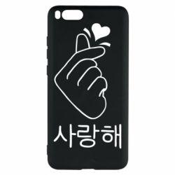 Чехол для Xiaomi Mi Note 3 K-pop - FatLine