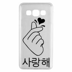 Чохол для Samsung A3 2015 K-pop