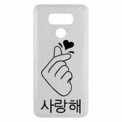 Чехол для LG G6 K-pop - FatLine