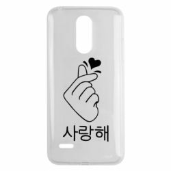 Чехол для LG K8 2017 K-pop - FatLine