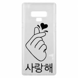 Чохол для Samsung Note 9 K-pop