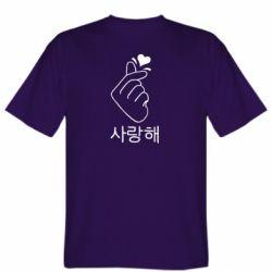 Мужская футболка K-pop - FatLine