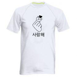 Мужская спортивная футболка K-pop - FatLine