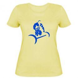 Женская футболка Качек и штанга - FatLine