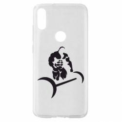 Чехол для Xiaomi Mi Play Качек и штанга