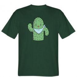 Мужская футболка Кактус