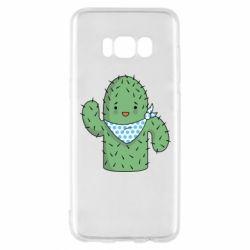 Чехол для Samsung S8 Кактус
