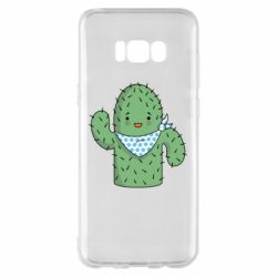 Чехол для Samsung S8+ Кактус