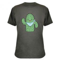 Камуфляжная футболка Кактус