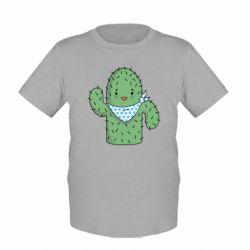 Детская футболка Кактус