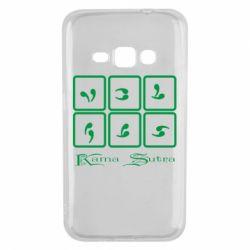 Чехол для Samsung J1 2016 Kama Sutra позы - FatLine
