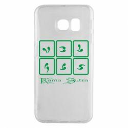 Чехол для Samsung S6 EDGE Kama Sutra позы - FatLine