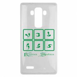 Чехол для LG G4 Kama Sutra позы - FatLine
