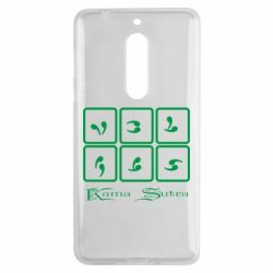 Чехол для Nokia 5 Kama Sutra позы - FatLine