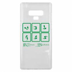 Чехол для Samsung Note 9 Kama Sutra позы - FatLine