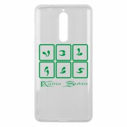 Чехол для Nokia 8 Kama Sutra позы - FatLine