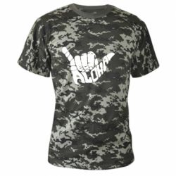 Камуфляжная футболка Aloha Hawai