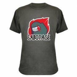 Камуфляжна футболка Among Us Sabotage