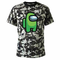 Камуфляжна футболка Astronaut Among Us