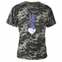 Камуфляжна футболка Bugs Bunny Meme Face