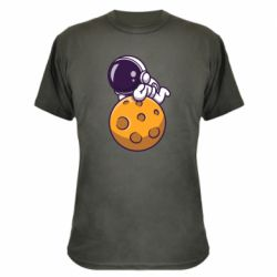 Камуфляжна футболка Chilling on the Moon