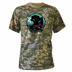Камуфляжная футболка Cowboy bebop