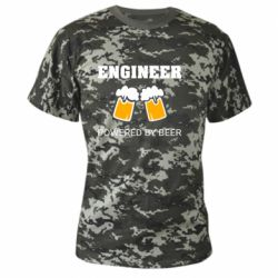Камуфляжна футболка Engineer Powered By Beer