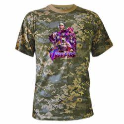 Камуфляжная футболка Garena free avengers