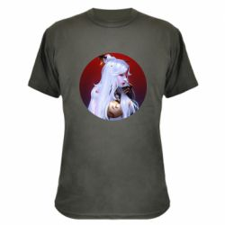 Камуфляжна футболка Genshin Impact Ningguang