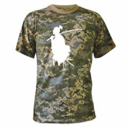 Камуфляжна футболка Ghost Of Tsushima Silhouette