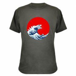 Камуфляжна футболка Godzilla Wave
