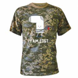 Камуфляжна футболка I am lost