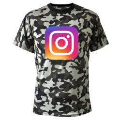 Камуфляжна футболка Instagram Logo Gradient
