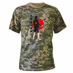Камуфляжна футболка Itachi in modern clothes