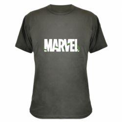 Камуфляжная футболка Marvel logo and vine