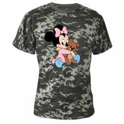 Камуфляжна футболка Minnie And Bear